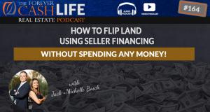 how to flip land using seller financing