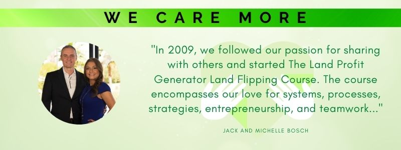 We care more - with Jack and Michelle Bosch