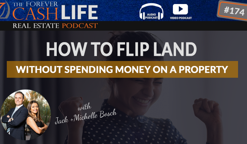 how to flip land without spending money on the property