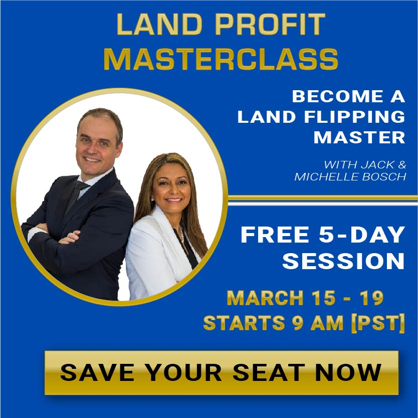 Land Profit Masterclass March 2021