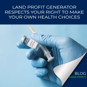 Land Profit Generator Covid-19 vaccine policy
